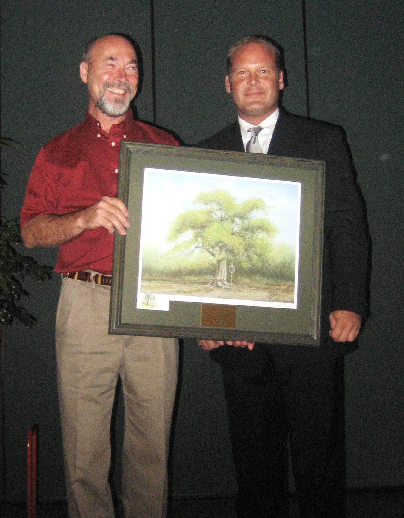 Isat past award winners for Don gardner arborist